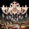 Qualitäts-moderne Auslegung-romantischer Kristallhaupthotel-Leuchter