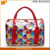 Tendenz lichtdurchlässige Belüftung-transparente Plastikkupplungs-Fonds-Beutel-Schönheits-Handtasche