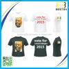 Le T-shirt le meilleur marché de campagne d'élection de voix d'impression