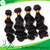 Unprocessed бразильские развевая человеческие волосы Remy девственницы волос