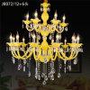 Vorhalle-Projekt-hängender Beleuchtung-Kerze-Kristallleuchter