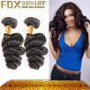 オンライン毛の拡張製造者の広州Fdxの卸し売りインドの織り方の毛
