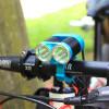 luz impermeable de la bicicleta de la alta calidad LED de 2400lm IP65 con el CE RoHS