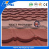 La sabbia del metallo ricoperta ha coperto le mattonelle di tetto del metallo della sabbia di sconto