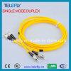 FC de duplex Optische Verbindingsdraad van de Vezel, de Kabel van de Verbindingsdraad