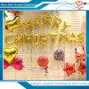 도매 행복한 크리스마스는 편지 포일 풍선을 공급한다