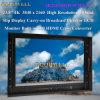 Video di alluminio dell'affissione a cristalli liquidi di pollice 4k TFT del caso 23.8