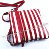 Bolso del Cruz-Cuerpo de las mujeres de la raya del PVC de la manera/bolso de las mujeres/bolso de las muchachas