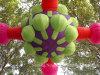 Fleur gonflable de publicité gonflable d'événement de matériel de la vente 2016 chaude pour la décoration d'usager