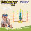 Blocs constitutifs en plastique du jouet DIY d'éducation pour 3-6 enfants