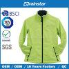 Специальная глянцеватая зеленая куртка Softshell