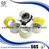 Enduire du ruban adhésif acrylique de la bande claire jaune d'emballage