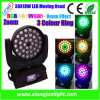 36X18W LED Beam Moving Head Wash Light con Zoom
