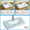 Évier de dessus de vanité de porcelaine de salle de bains des prix spéciaux de deux tailles (S5510)