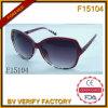 Les lunettes de soleil rouges rouges de bijoux luxueux (F15104)