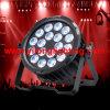 Lumière en aluminium neuve de disco de PARITÉ de 18X15W Rgbawuv DEL