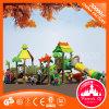 Neue bunte lustige Kind-im Freienspielplatz-Plättchen