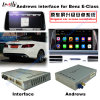 Automobile Video Interface per Benz con i a-Class, B-Class, C-Class, E-Class, Ml-Class, Glk, Cls-Class, Slk-Class; 5.8 o 7 '' con Android System