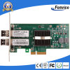 LAN Card de Ethernet Wired Type Network do gigabit da fibra óptica do chipset de 1000Mbps Dual Port Intel 82580