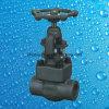 800lb 1500lb ha forgiato la valvola di globo d'acciaio del NPT dell'estremità di filetto A105