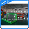 Water gonfiabile Volleyball Playground, Air Sealed Volleyball Field per Sports