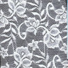 Witte Lace Fabric (draag oeko - tex norm 100 cartificaiton W9382)