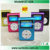 최신 Selling Clip MP3 Player, LCD Screen를 가진 Portable Mini MP3