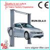 Portance hydraulique de stationnement de voiture de poste automatique de la grue deux