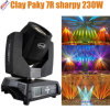 粘土Paky 7r Sharpy 230W Beam Moving Head Light