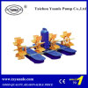 Pala Wheel Aerator per Shrimp, Pond e Fish Farming Floating Pump
