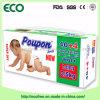 Tecido descartável confortável altamente absorvente do bebê da qualidade de Poupon da classe um melhor