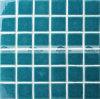 mattonelle di mosaico di ceramica della piscina di Crackle verde di 48X48mm (BCK714)