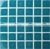 48X48mm grünes Knistern-keramische Swimmingpool-Mosaik-Fliese (BCK714)