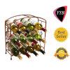 Cremagliera indipendente su ordinazione del vino del metallo (YYB-021)