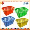 Boutique à prix standard sur mesure Supermarché Panier d'achat en plastique (Zhb71)