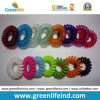 Малое Size Colorful Plastic Spiral Wrist Strap для Hair Using