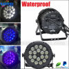 Openlucht LED 18PCS RGBW 4 in-1 Waterproof PAR Light