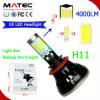 Diodo emissor de luz Headlight do CREE do poder superior 40W 4000lm G5 H11
