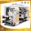 Máquina 4/6 en color de alta velocidad de película de plástico de impresión flexográfica