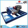 High Pressure Electric Motor Driven Mobile Water Jetter Plunger Pump