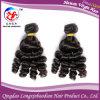 Уток человеческих волос тетеньки Funmi Завивать волос Remy девственницы надкожицы Weft (HFMB-A405)