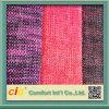 Utilisation grise rouge-brun de tapisserie d'ameublement de tissu de sofa de couleur