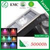 5 luz solar solar del ladrillo de la luz LED de las opciones IP68 del color