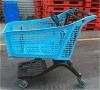 2016! Carro de compra plástico puro do estilo novo