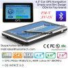 Navegador del GPS de la en-Rociada de Portablet del coche barato 4.3 con 128MB RDA, 4GB, FM, BT, Tmc, ISDB-T TV, navegación G-4306 del GPS de la correspondencia del GPS