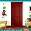 Porte en bois de placage pour la pièce de famille avec la glace (WDHO55)