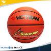 Размер 7 6 PU изготовленный на заказ логоса кожаный баскетбол 5 спичек