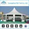 Barraca comercial grande elegante do dossel da parede de vidro para o banquete ao ar livre