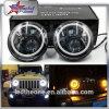 7 LEIDENE van Cre H/L van de duim Koplamp voor Jeep 50W