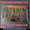 Карточка 2016 инструмента избежания карточки инструмента выживания Readyman напольная
